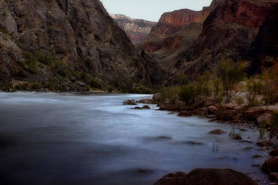Photograph - Evening In The Canyon by Ellen Heaverlo