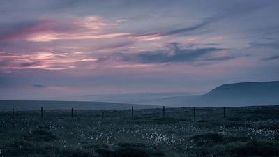 Derbyshire Photograph - Evening In The Peak District by Chris Fletcher