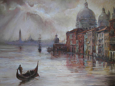 Painting - Evening In Venice. by Tigran Ghulyan