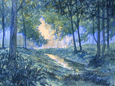 Painting - Evening In Wykeham Forest by Glenn Marshall