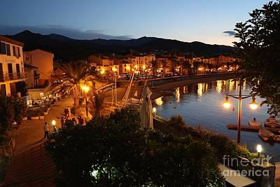 Collioure Photograph - Evening Light In Collioure by Carol Groenen