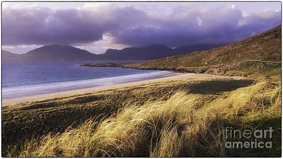 Photograph - Evening Light Luskentyre by George Hodlin