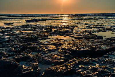 Photograph - Evening Light Of Sea by Michael Goyberg