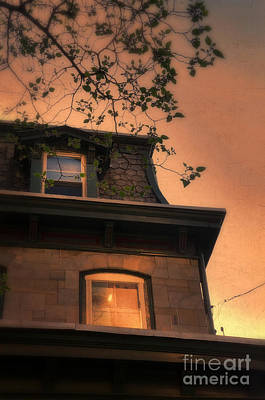Photograph - Evening Light On Old House by Jill Battaglia