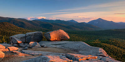 Evening Light On The Balanced Rocks Art Print by Panoramic Images