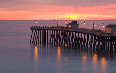 Evening Light San Clemente Art Print by Cliff Wassmann
