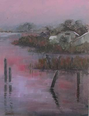 Evening Light Print by Susan Richardson