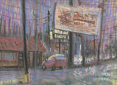 Evening Lights Original by Donald Maier
