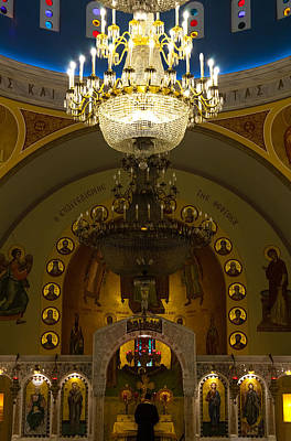 Photograph - Evening Mass At St Sophia by Ed Gleichman