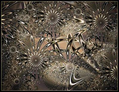 Digital Art - Evening Meadow by Connie Dye
