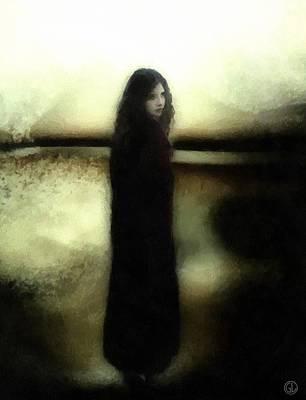Melancholia Wall Art - Digital Art - Evening Melancholia by Gun Legler
