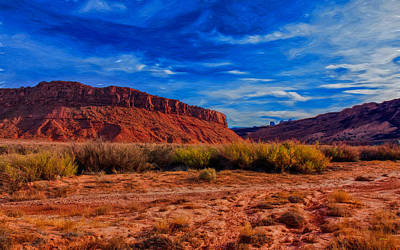 Photograph - Evening Mesa by John M Bailey