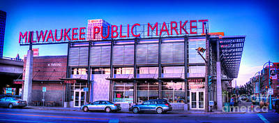 Evening Milwaukee Public Market Art Print