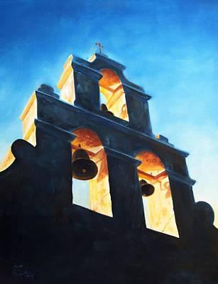 Evening Mission Art Print by Scott Alcorn
