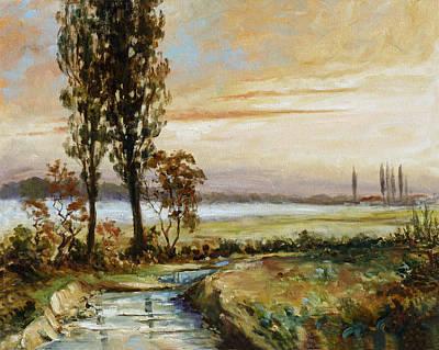 Evening Painting - Evening Mist by Irek Szelag