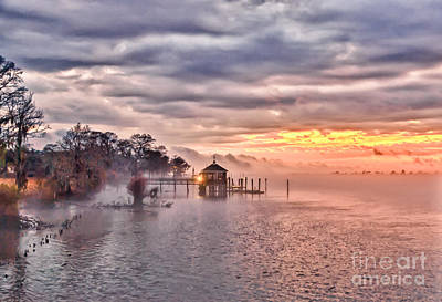 Photograph - Evening Mist by Mike Covington