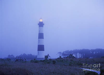Photograph - Evening Mist On Bodie Island - Fm000080 by Daniel Dempster