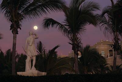 Mazatlan Photograph - Evening Moon by Shane Bechler