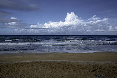 Photograph - Evening On Beverly Beach by Judy Hall-Folde