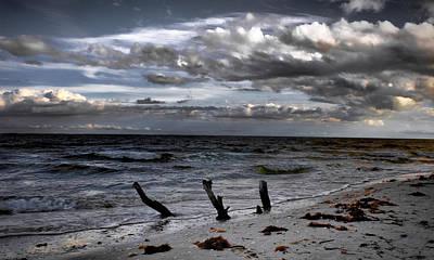 Photograph - Evening On Lighthouse Beach by Ellen Heaverlo