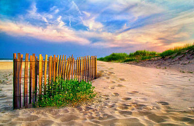 Photograph - Evening On The Beach by Carolyn Derstine