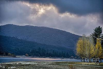 Photograph - Evening On The Lake by Peggy Hughes