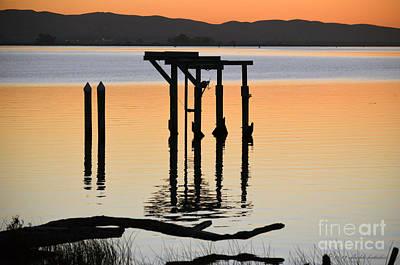 Photograph - Evening On The Sacramento River by Afroditi Katsikis