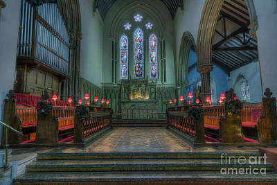 Christian Sacred Photograph - Evening Prayers by Ian Mitchell