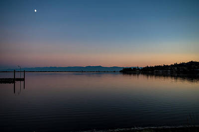 Esquimalt Photograph - Evening Reflections by Marilyn Wilson