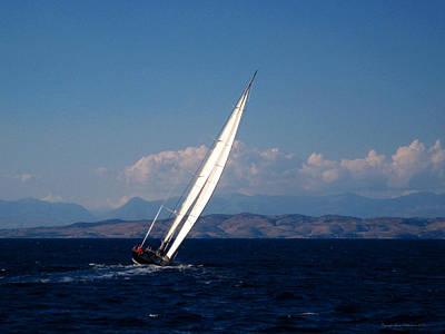 Photograph - Evening Sails by Leena Pekkalainen