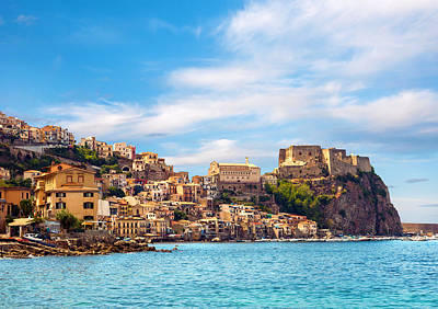 Evening Scilla Castle Art Print