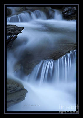 Photograph - Evening Silk Spillway by John Stephens