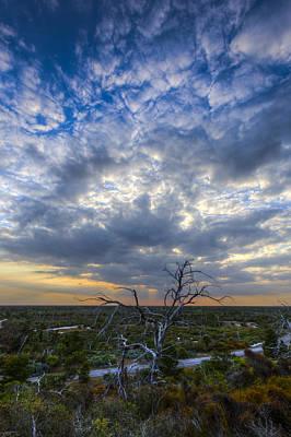 Evening Skies Over Florida Art Print