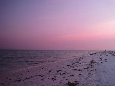 Florida Photograph - Evening Sky At The Beach by Megan Cohen