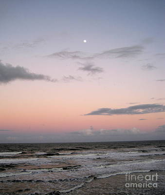 Ocean Photograph - Evening Sky by Megan Cohen