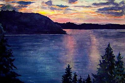Evening Song Art Print by Brenda Owen