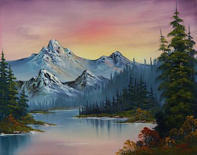 Splendor Painting - Evening Splendor by C Steele