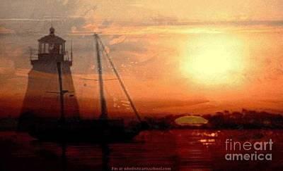 Painterartistfin Mixed Media - Evening Splendor by PainterArtist FIN