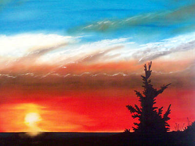 Painting - Evening Sun by Marvin Barham