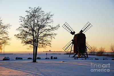 Photograph - Evening Sunshine by Kennerth and Birgitta Kullman