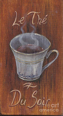 Evening Tea Art Print by Callie Smith
