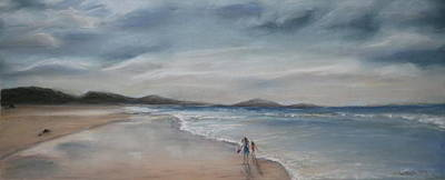 Painting - Evening Tide by Rachael Curry