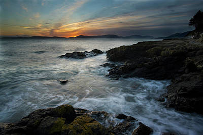 Anacortes Photograph - Evening Turmoil by Mike Reid