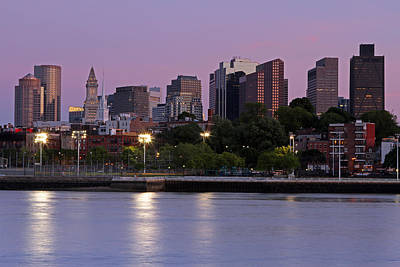 Most Viewed Photograph - Evening View Of Boston by Juergen Roth