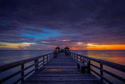 Photograph - Evening Walk by Nick  Shirghio