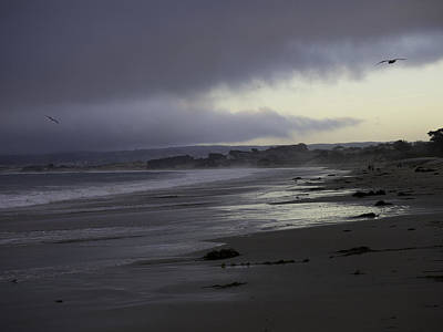 Photograph - Evening Walk On The Beach by Derek Dean
