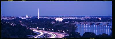 Evening Washington Dc Art Print by Panoramic Images