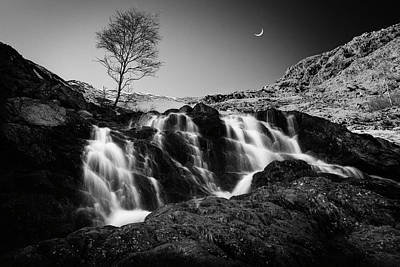 Mountain Stream Wall Art - Photograph - Evening Waterfall by Roberto Bertero