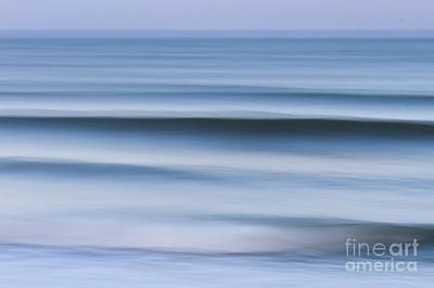 Evening Waves Art Print by Katherine Gendreau