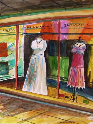 Evening Wear Painting - Evening Wear by John Williams